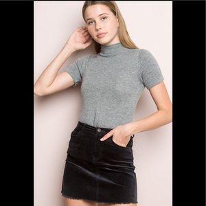 Brandy Melville Juliette curdoroy skirt
